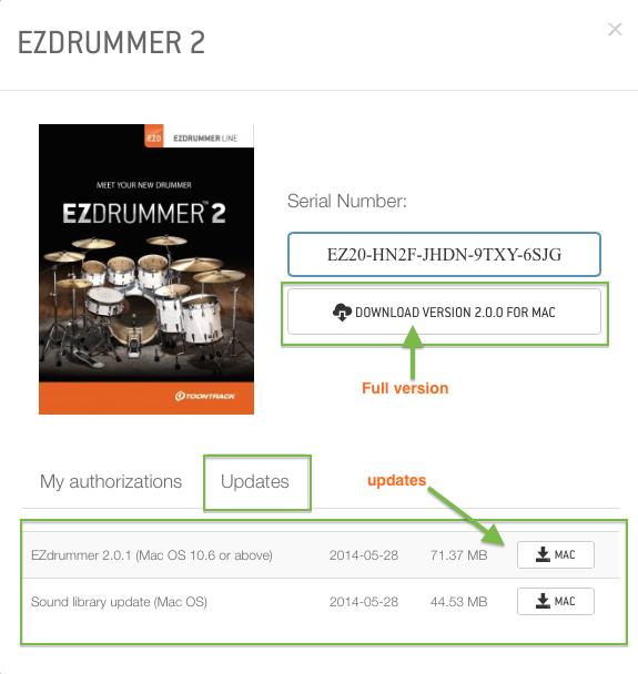 ezdrummer 2  with crack