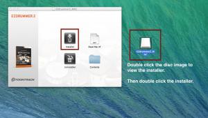 click installer