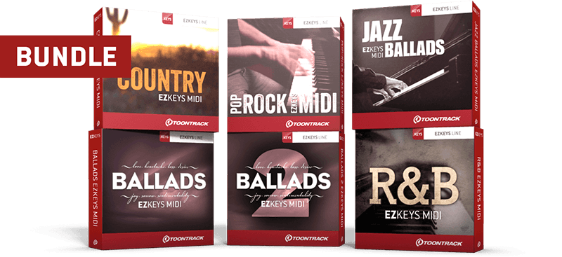 Songwriting EZkeys MIDI 6 Pack