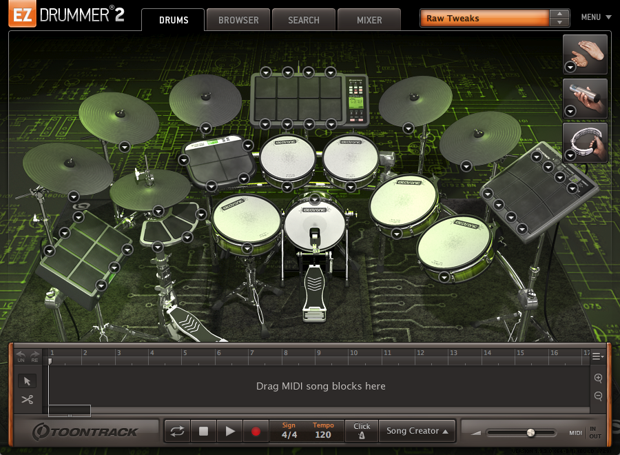 EZ Drummer 2 userswhat are your 4 favorite EZX Expansion Packs