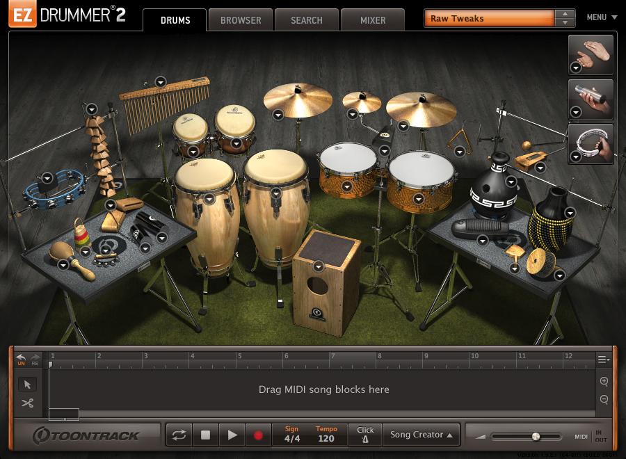 Ez Drummer Latin 110
