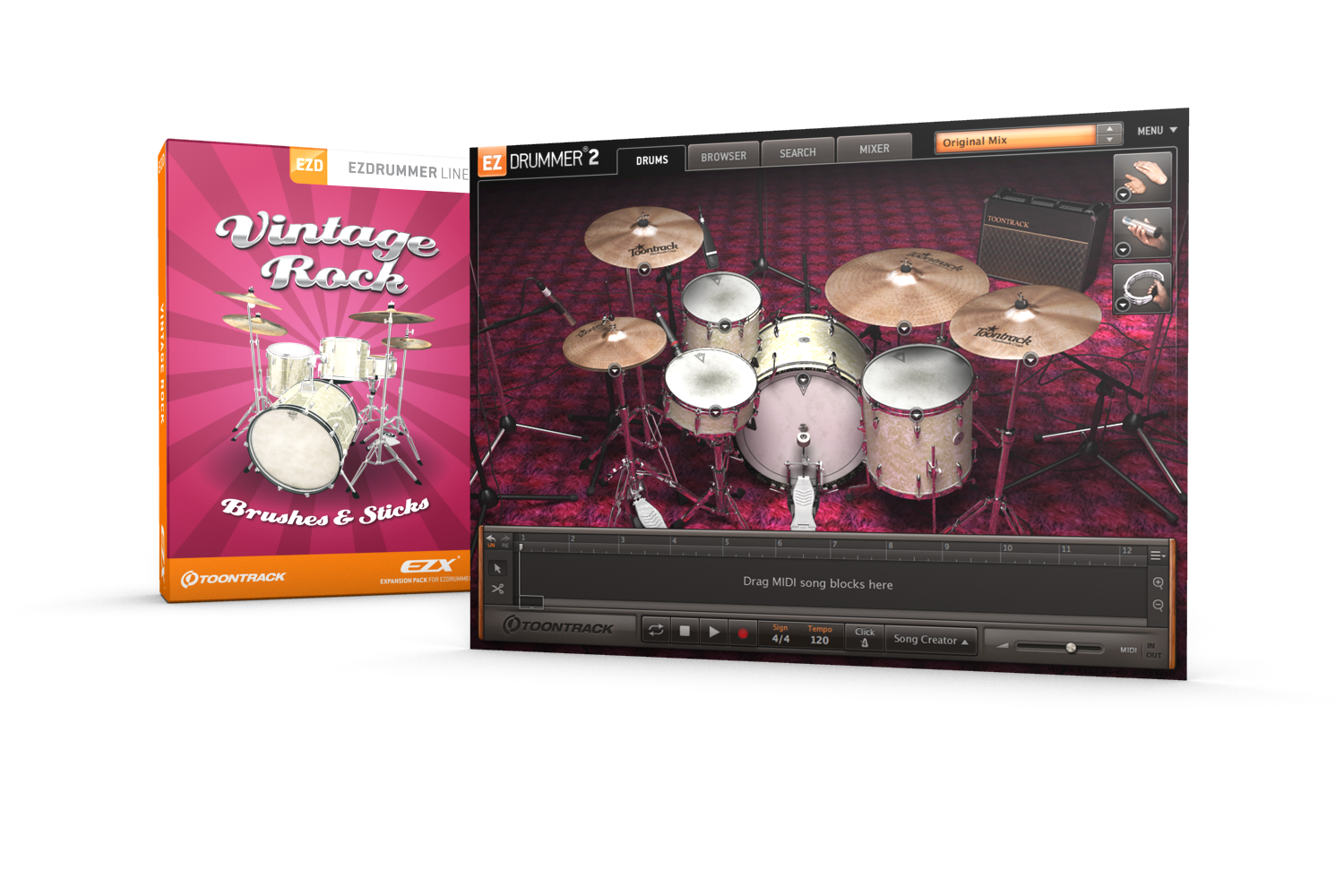 Скачать toontrack - ezdrummer 2 all expansion torrent.
